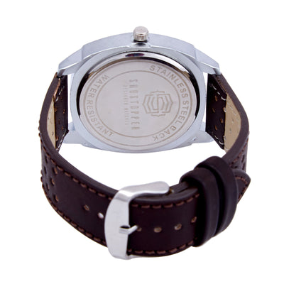 Shostopper Exotic White Dial Analogue Watch For Men - SJ60016WM-3