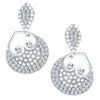 ShoStopper Glorious Rhodium Plated Austrian Diamond Earring