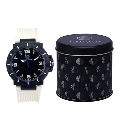 Shostopper Sporty Black Dial Analogue Watch For Men - SJ60032WM-1