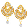 ShoStopper Ravishing Gold Plated Austrian Diamond Earring