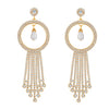 ShoStopper Fabulous Gold Plated Austrian Diamond Earring