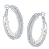 ShoStopper Delightly Rhodium Plated Austrian Diamond Earring