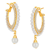 ShoStopper Stylish Gold Plated Austrian Diamond Earring