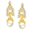 ShoStopper Delightful Gold Plated Austrian Diamond Earring