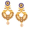Shostopper Peacock Gold Plated Earrings For Women SJ6083EN