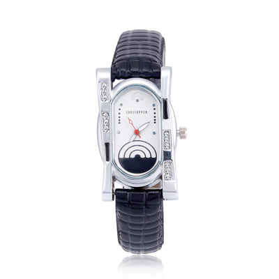 Shostopper Creative White Dial Analogue Watch For Women - SJ62008WW