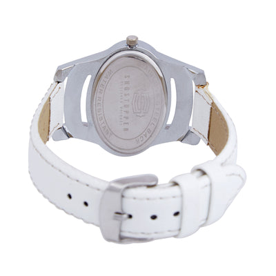 Shostopper Eye-catch White Dial Analogue Watch For Women - SJ62010WW-3