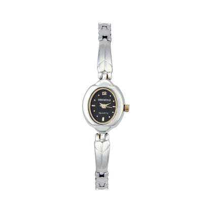Shostopper Charming Black Dial Analogue Watch For Women - SJ62025WW
