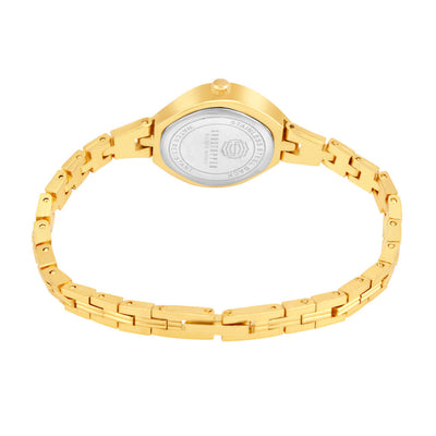 Shostopper Designer Gold Dial Analogue Watch for Women - SJ62069WW-3