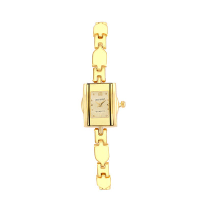 Shostopper Princes Gold Dial Analogue Watch for Women - SJ62070WW
