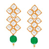 Sukkhi Incredible Gold Plated Green Pearl & Kundan Choker Necklace Set for Women