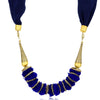 Sukkhi Lavish Blue Scarf Necklace for women