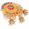 Sukkhi Elegant Peacock Gold Plated Saree pin for women