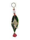 Sukkhi Best-Selling Traditional Ganpati Door Hanging in Green and Gold