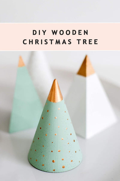 DIY Gold Tree