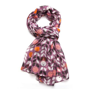 Berry Scarf - Purple