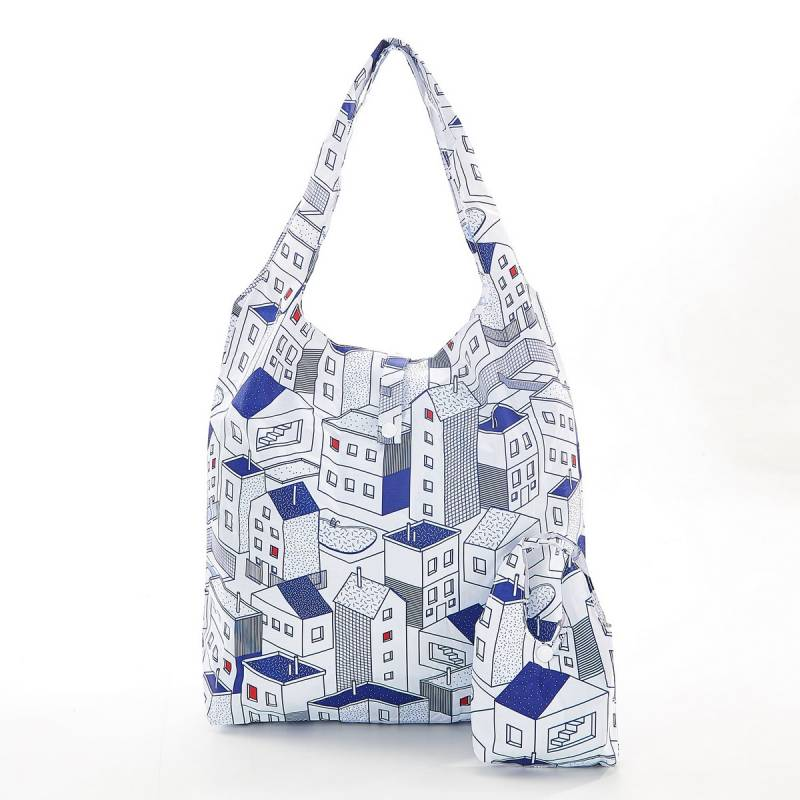 Blue Houses Eco Chic Shopper