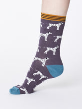 Load image into Gallery viewer, Dalmation Bamboo Socks