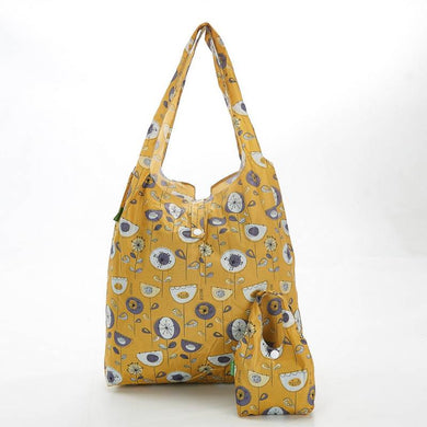 Mustard Flowers Eco Chic Shopper