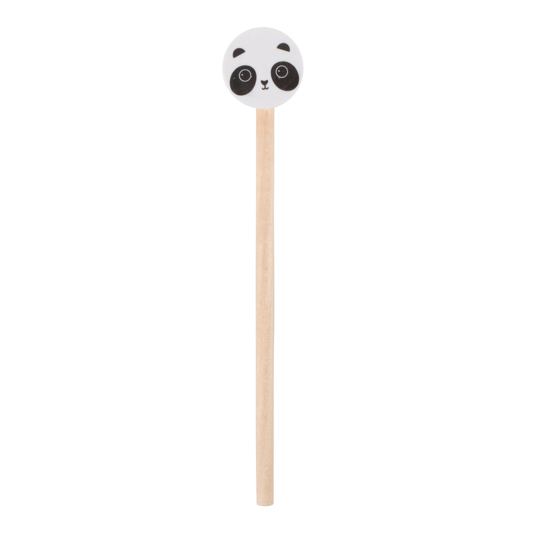 Pencil and Panda Eraser