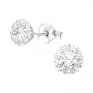 Sterling Silver sparkling earrings