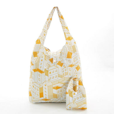 Yellow Houses Eco Chic Shopper
