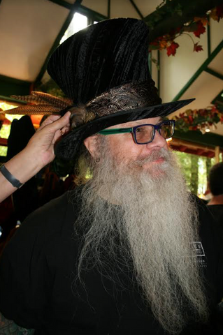 tall hats and renaissance hats for men by Tall Toad Hats at Maryland Renaissance Festival