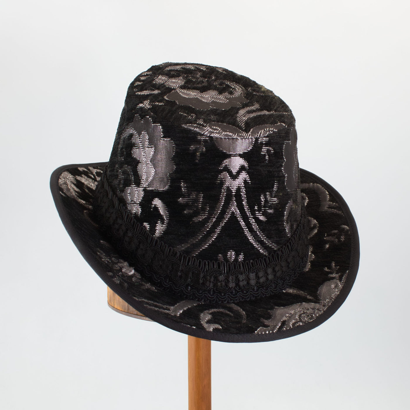 Tall Hat - Black Silver Metallic - Tall Toad