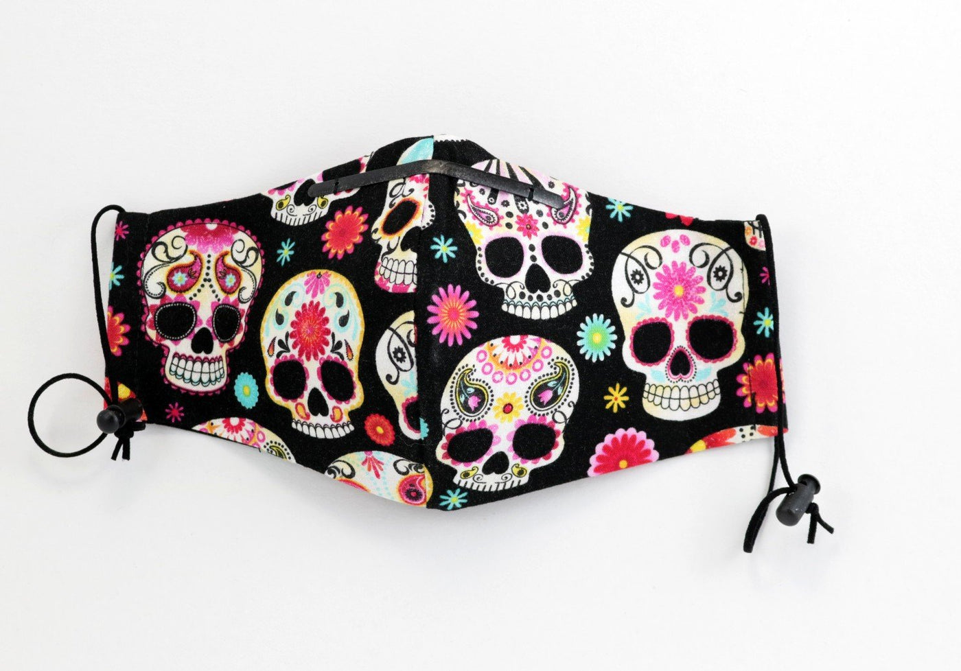 Day Of The Dead Sugar Skull Face Mask