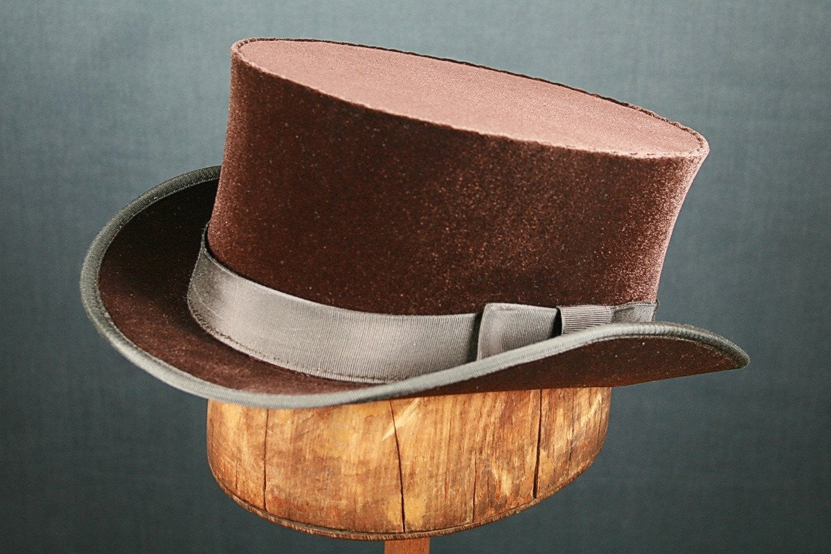 John Bull Top Hat - Brown - Tall Toad