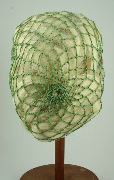 Hand Crocheted Snood - Sage Green - Tall Toad