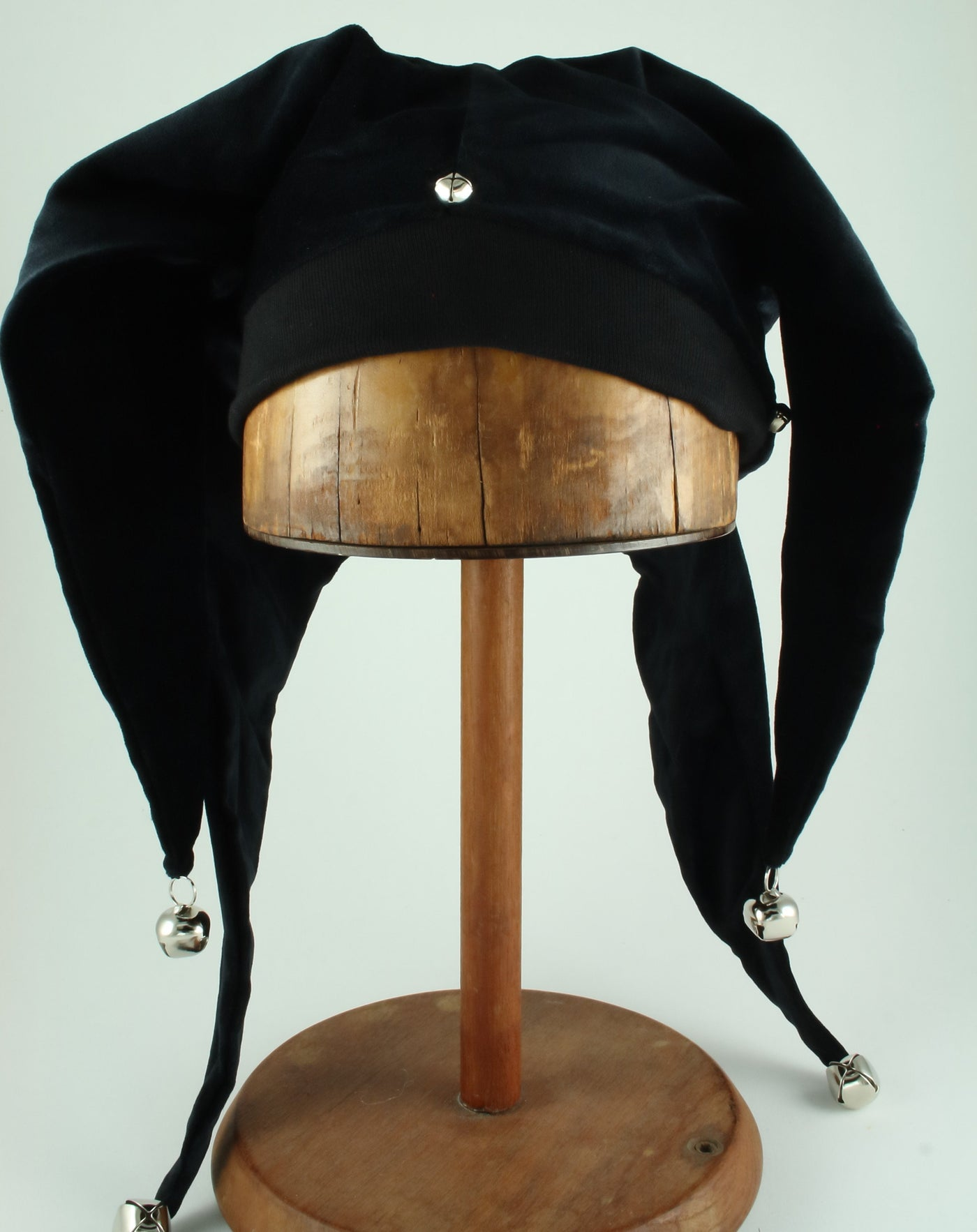 Jester Hat - Solid Black - Tall Toad