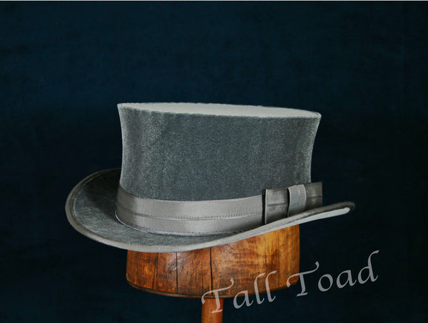 John Bull Top Hat - Pewter - Tall Toad
