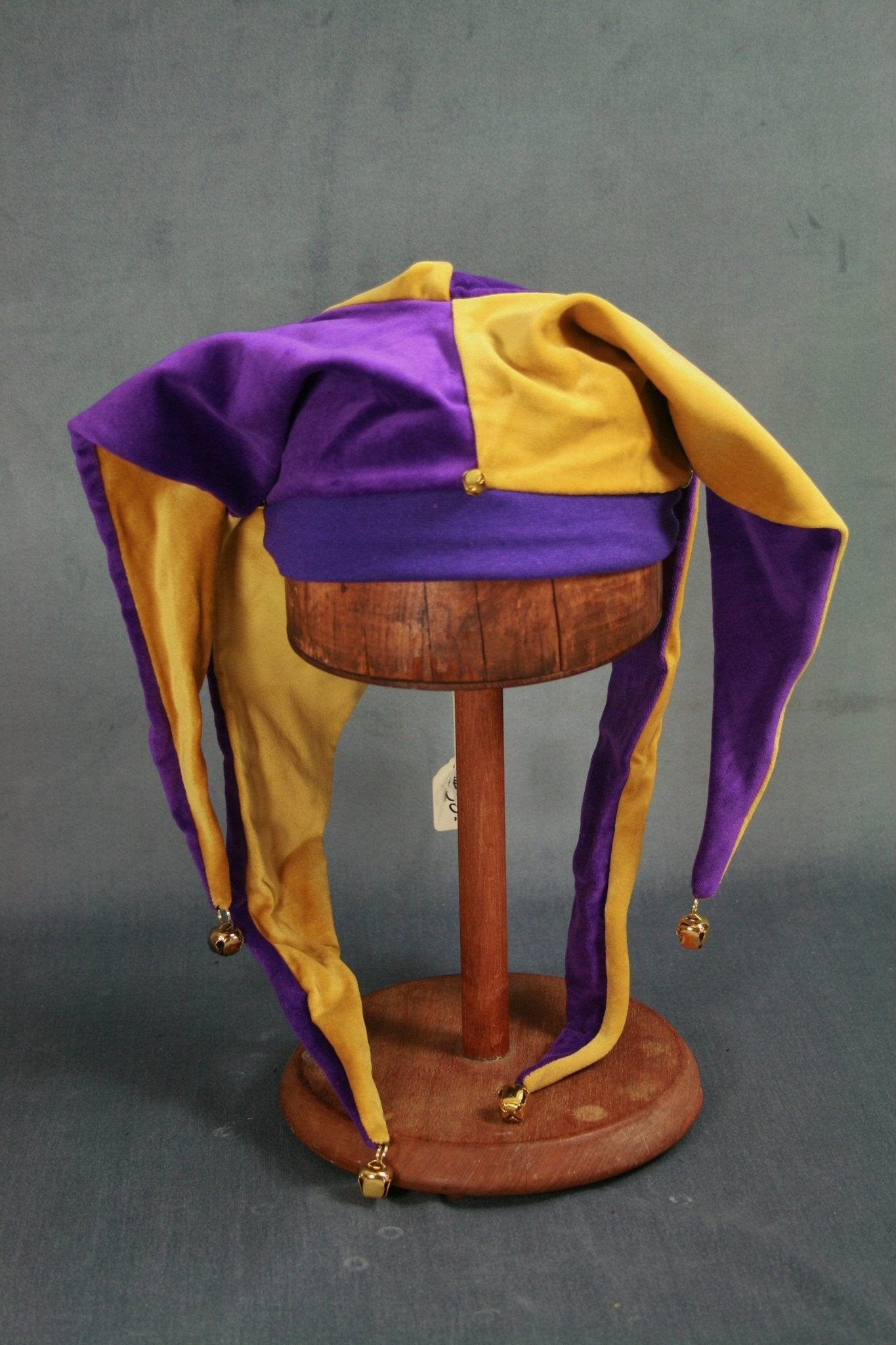 Jester Hat - Purple / Gold - Tall Toad