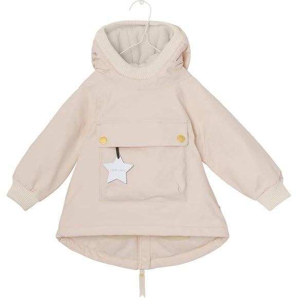 Mini A Ture Wen Peach Baby Jacket