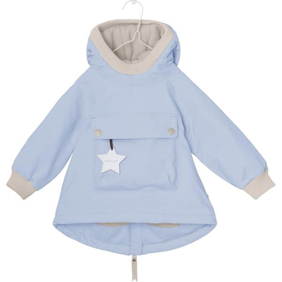 Mini A Ture Wen Blue Baby Jacket