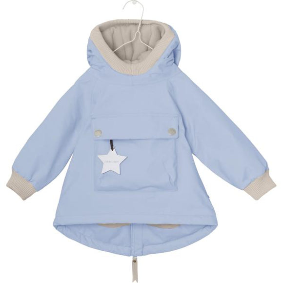 Mini A Ture Wen Blue Fog Baby Jacket