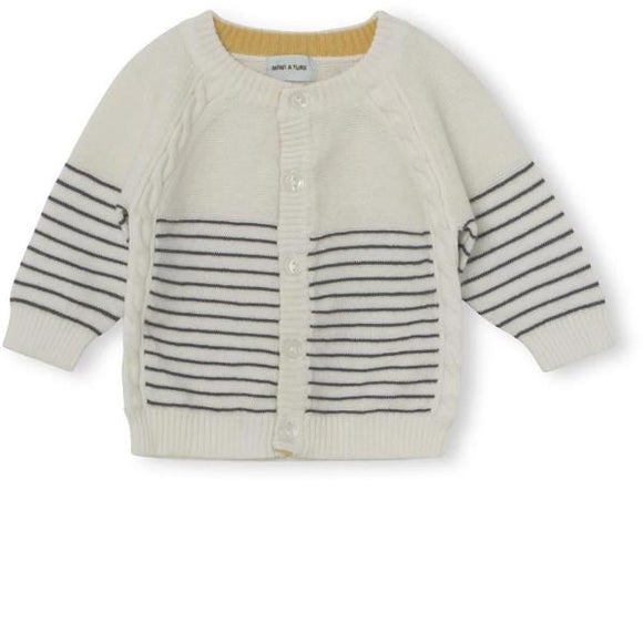 Mini A Ture Ursul Turbulence Blue Cardigan