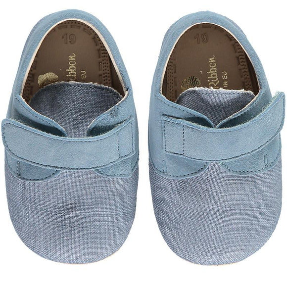 Charlie Denim Baby Shoes