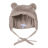 Absorba Faux Fur Taupe Hat