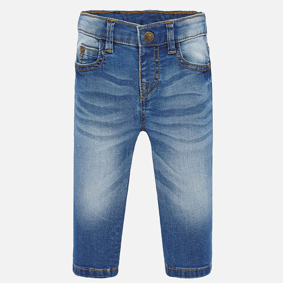 Slim Fit Light Blue Denims