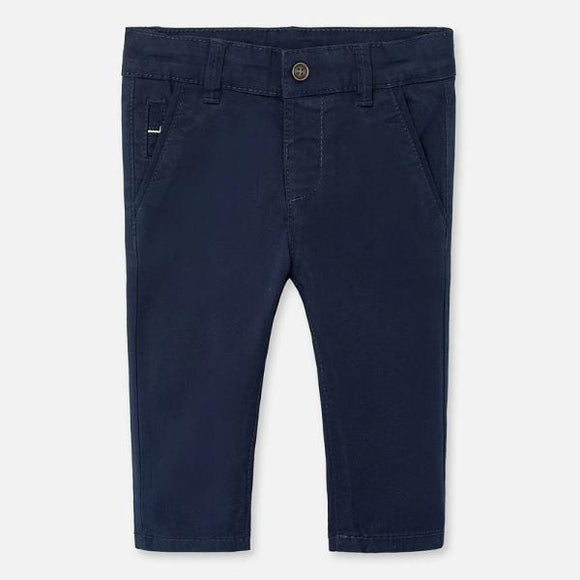 Mayoral Twill Navy Trousers