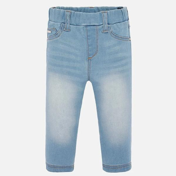 Mayoral Denim Light Blue Leggings