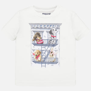 House Dogs White T-shirt - 2 years