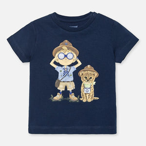 Explorer Navy T-shirt