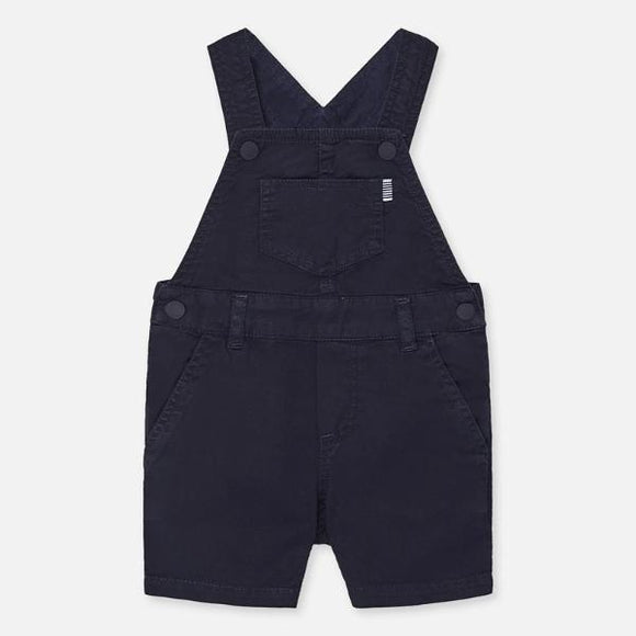 Mayoral Twill Navy Dungarees