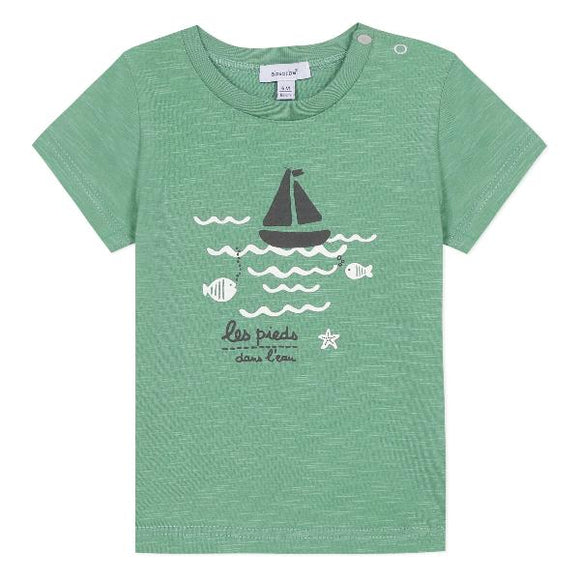 Absorba Boat Green T-shirt