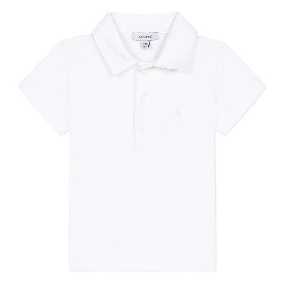 Absorba Monceau White Polo