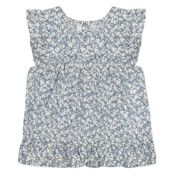 Absorba Floral Liberty Blue Ocean Blouse