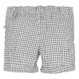 Absorba Gingham Grey Cloud Bermudas